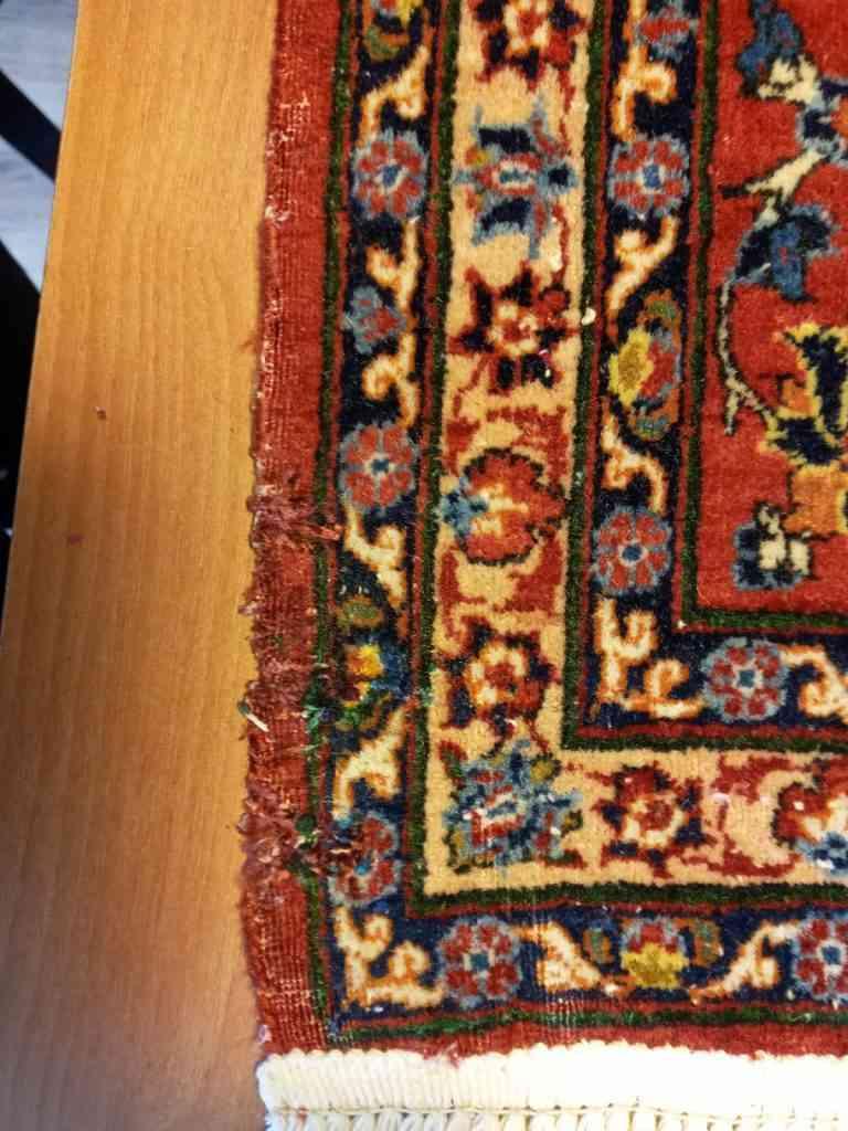 תיקון שטיח פגום